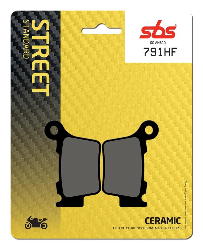 Pastilla de freno SBS P791-HF
