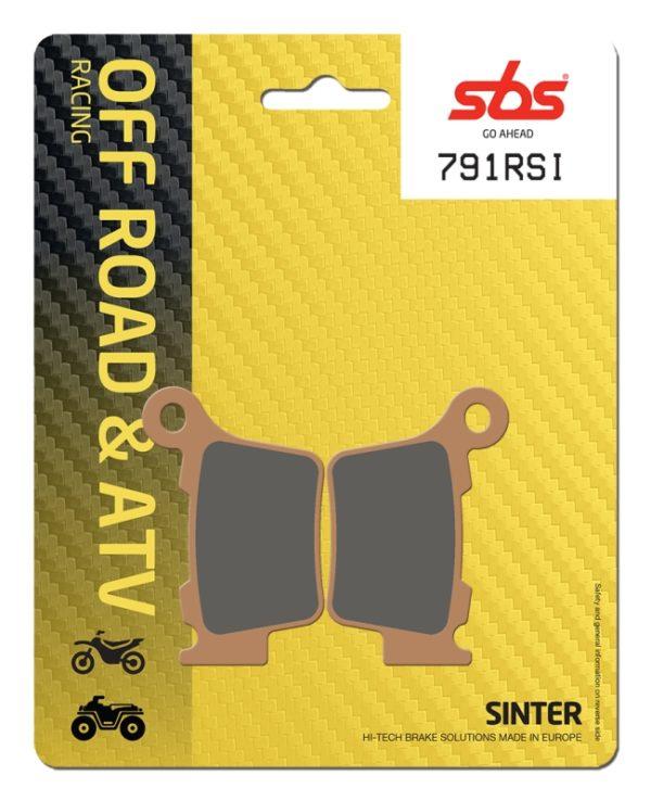 Pastilla de freno SBS P791-RSI