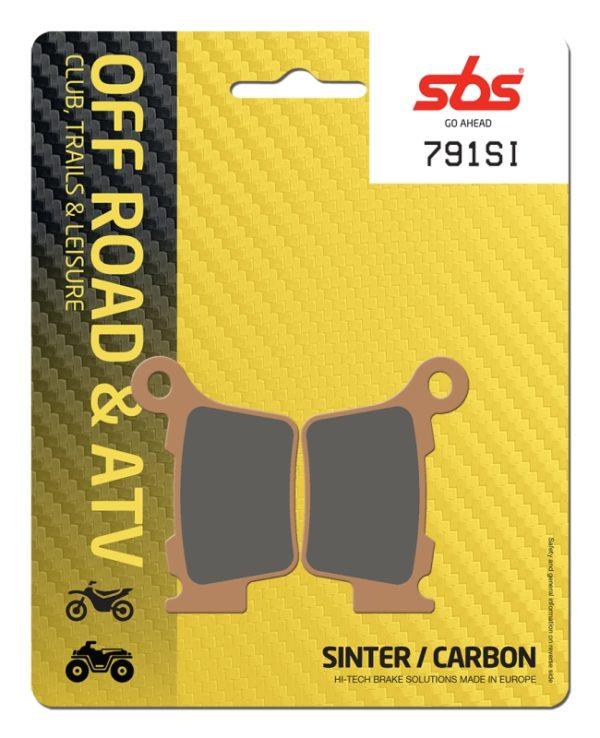 Pastilla de freno SBS P791-SI