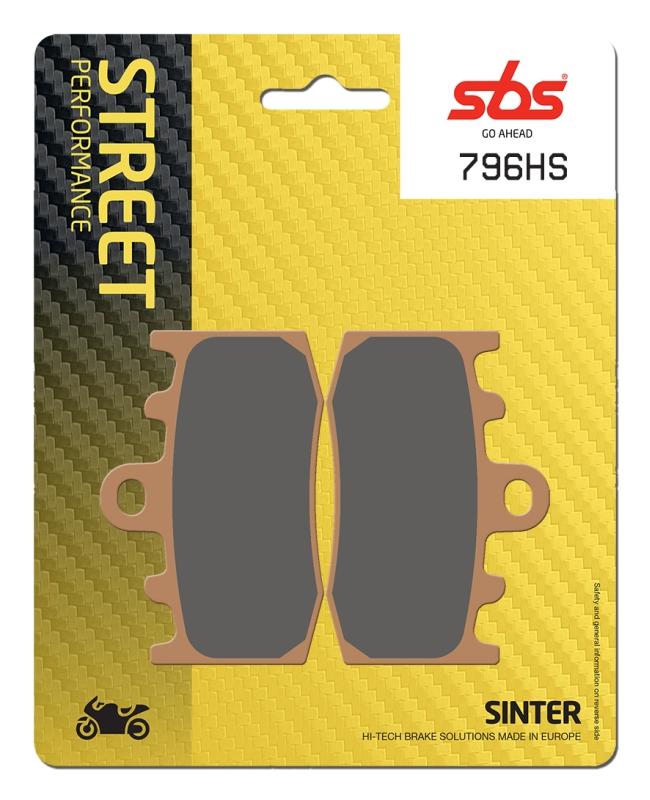 Pastilla de freno SBS P796-HS