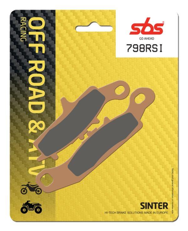 Pastilla de freno SBS P798-RSI