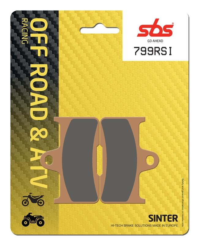 Pastilla de freno SBS P799-RSI