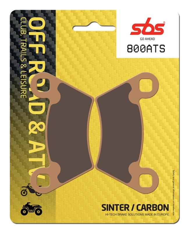 Pastilla de freno SBS P800-ATS