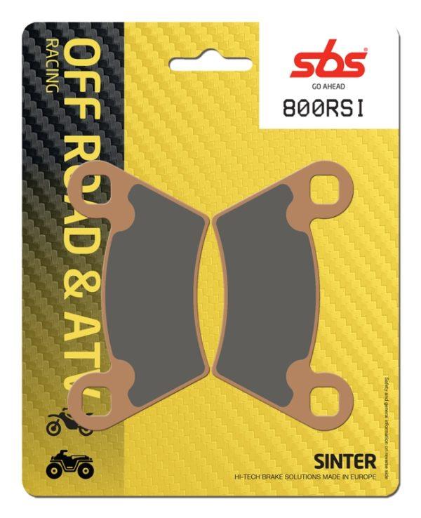 Pastilla de freno SBS P800-RSI