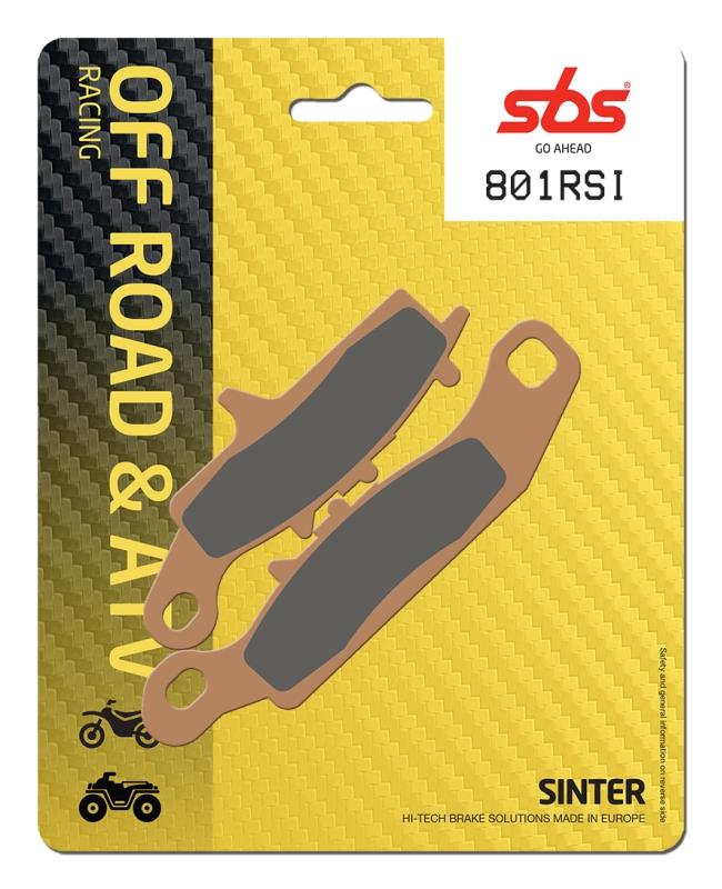 Pastilla de freno SBS P801-RSI