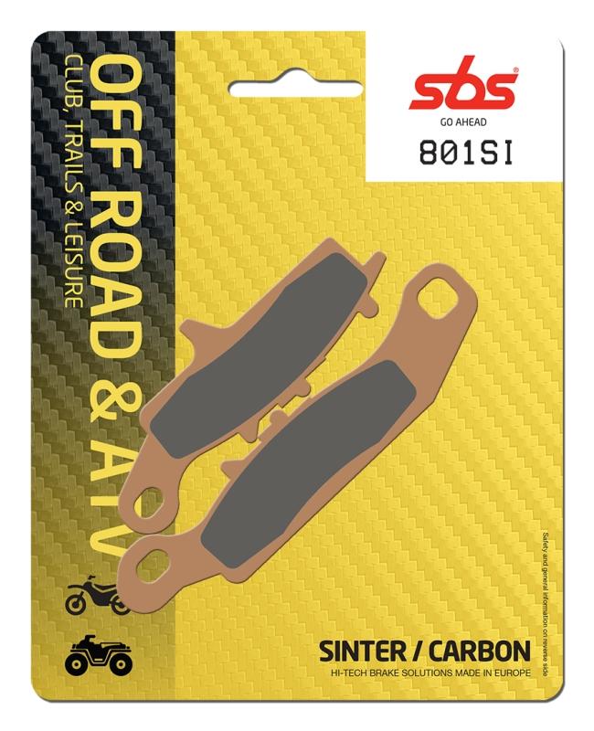 Pastilla de freno SBS P801-SI