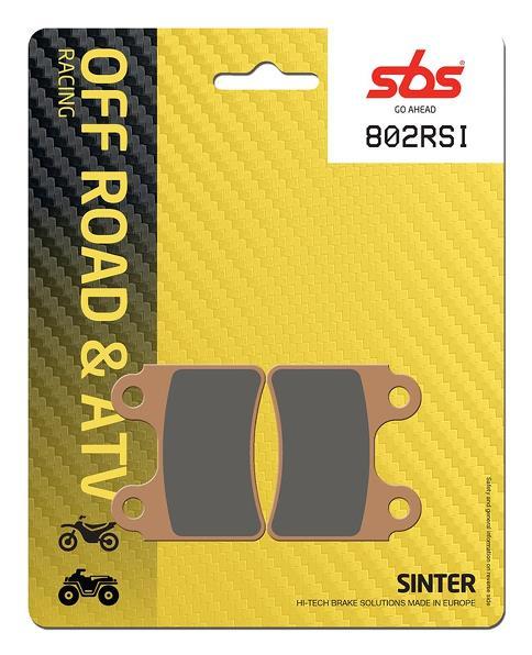 Pastilla de freno SBS P802-RSI