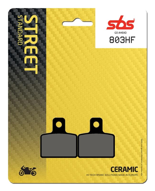 Pastilla de freno SBS P803-HF