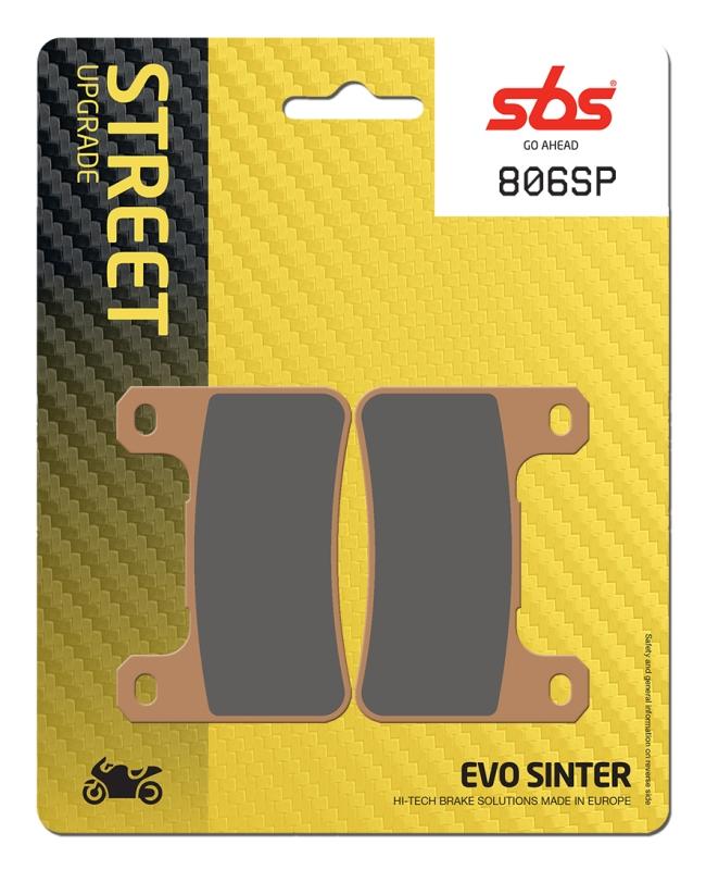 Pastilla de freno SBS P806-SP