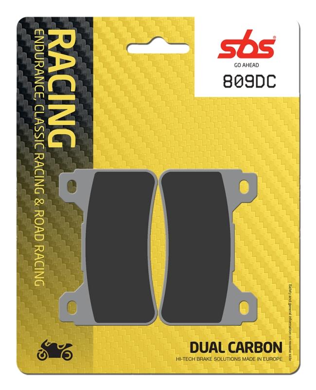 Pastilla de freno SBS P809-DC