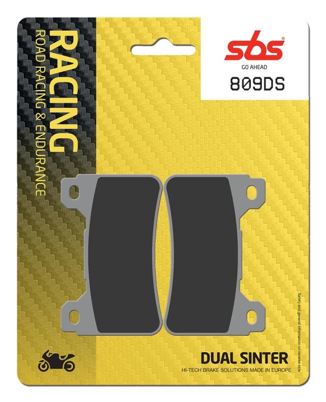 Pastilla de freno SBS P809-DS