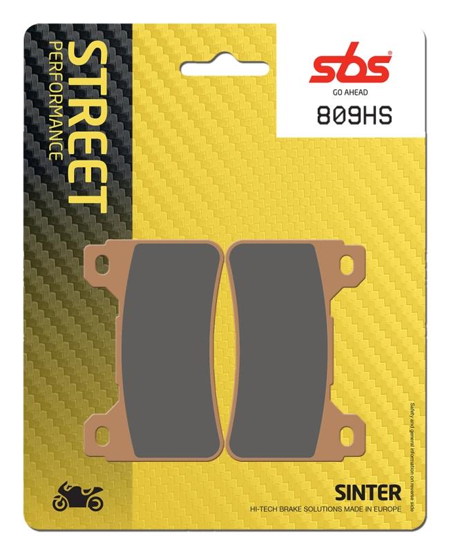 Pastilla de freno SBS P809-HS