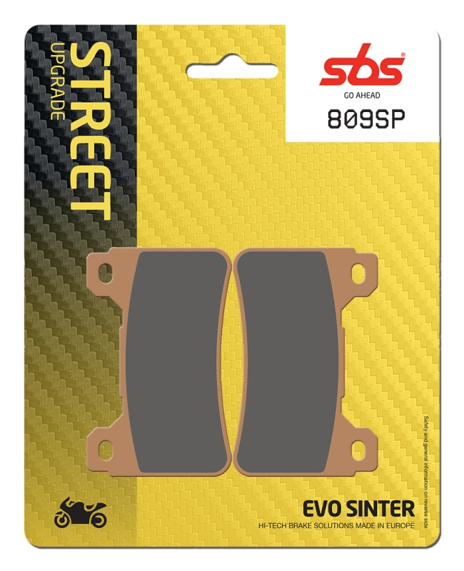 Pastilla de freno SBS P809-SP