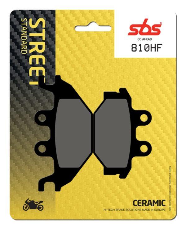 Pastilla de freno SBS P810-HF
