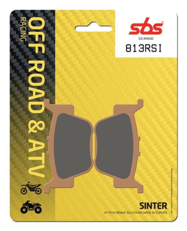 Pastilla de freno SBS P813-RSI