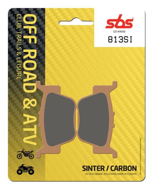 Pastilla de freno SBS P813-SI
