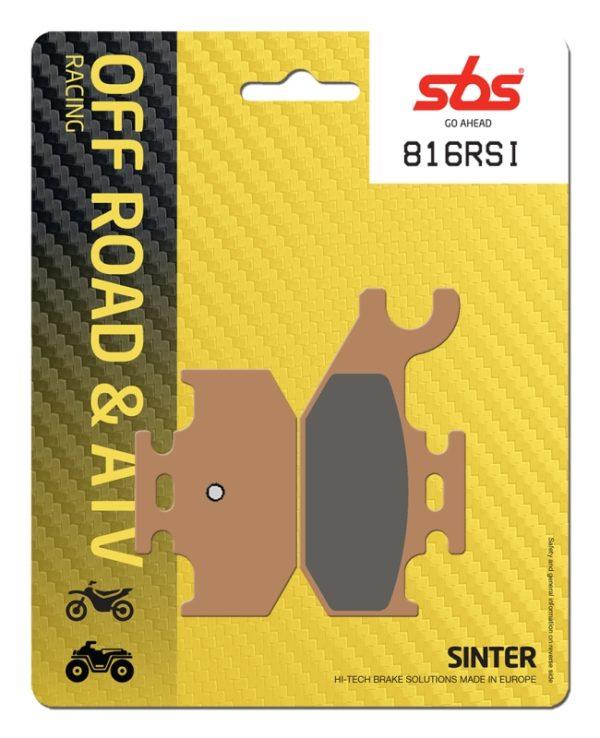 Pastilla de freno SBS P816-RSI
