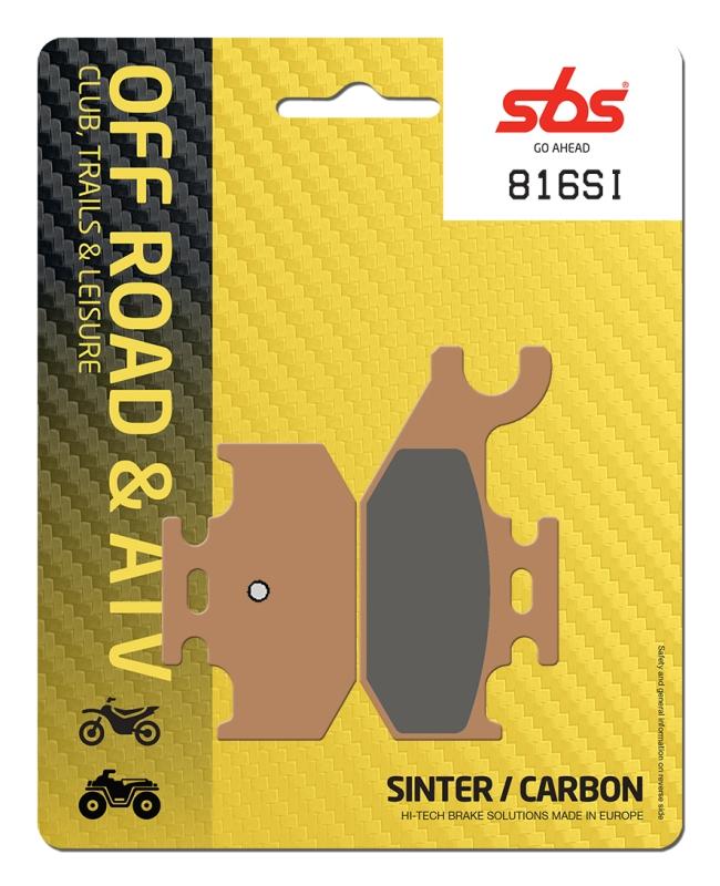 Pastilla de freno SBS P816-SI