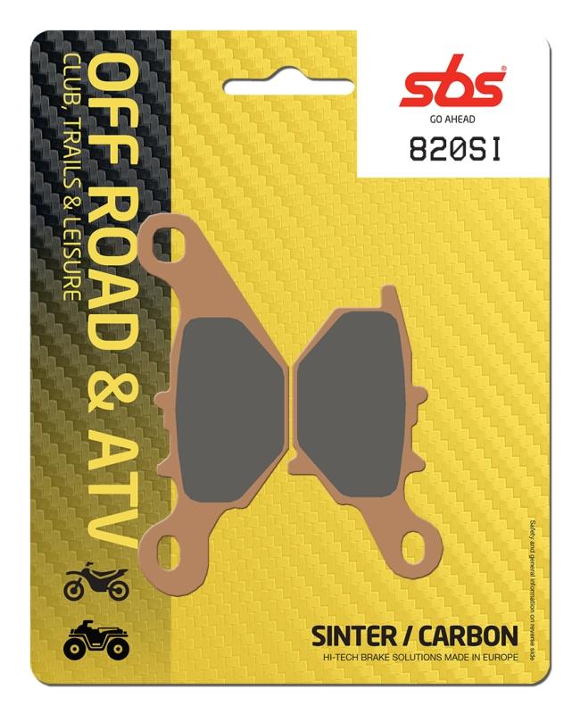 Pastilla de freno SBS P820-SI