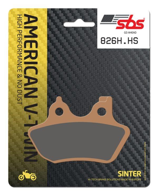 Pastilla de freno SBS P826-HS