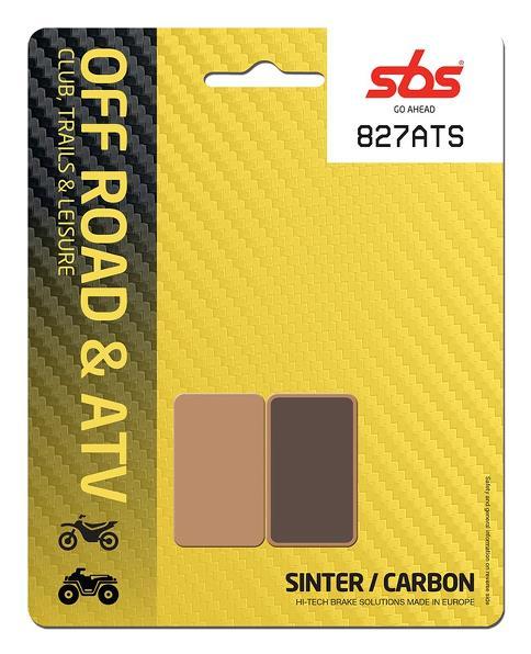 Pastilla de freno SBS P827-ATS