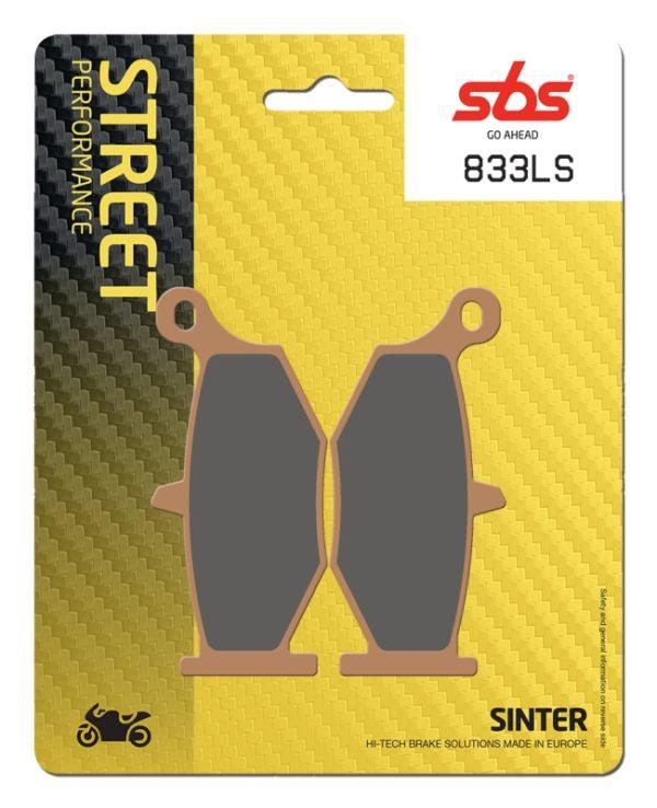 Pastilla de freno SBS P833-LS