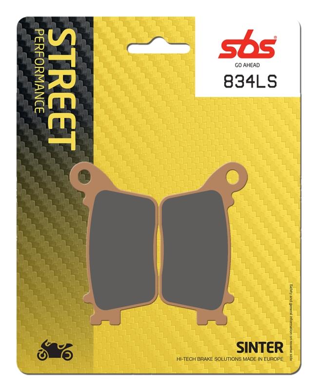 Pastilla de freno SBS P834-LS