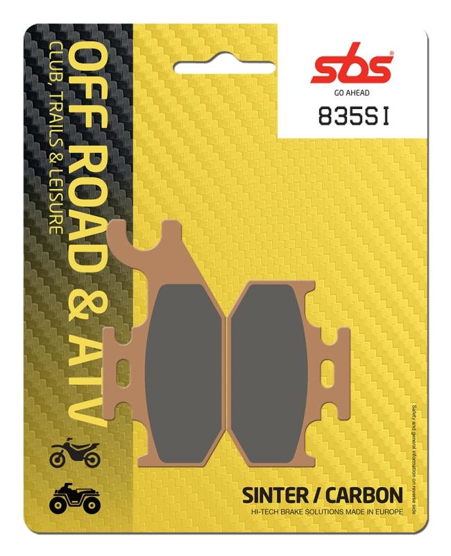 Pastilla de freno SBS P835-SI