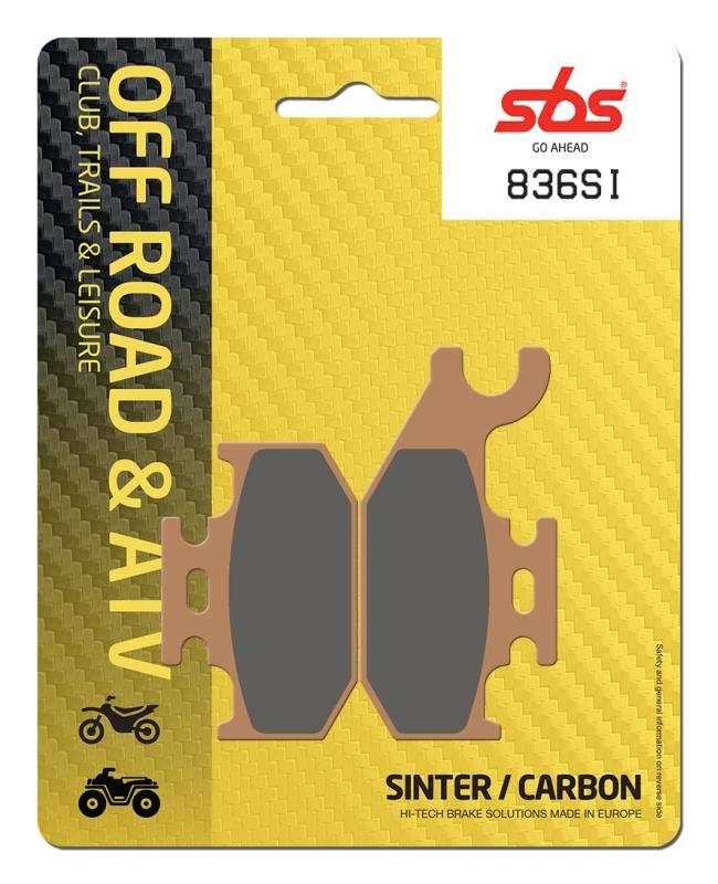 Pastilla de freno SBS P836-SI