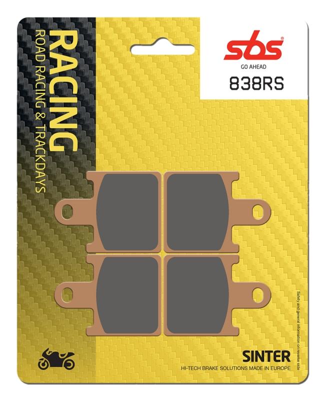 Pastilla de freno SBS P838-RS