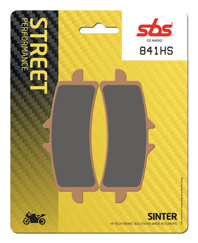 Pastilla de freno SBS P841-HS