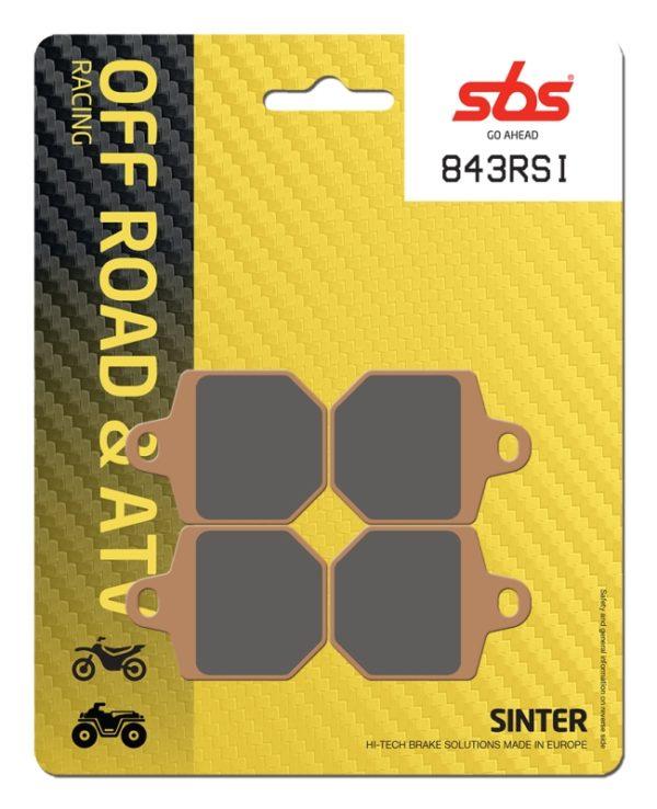 Pastilla de freno SBS P843-RSI