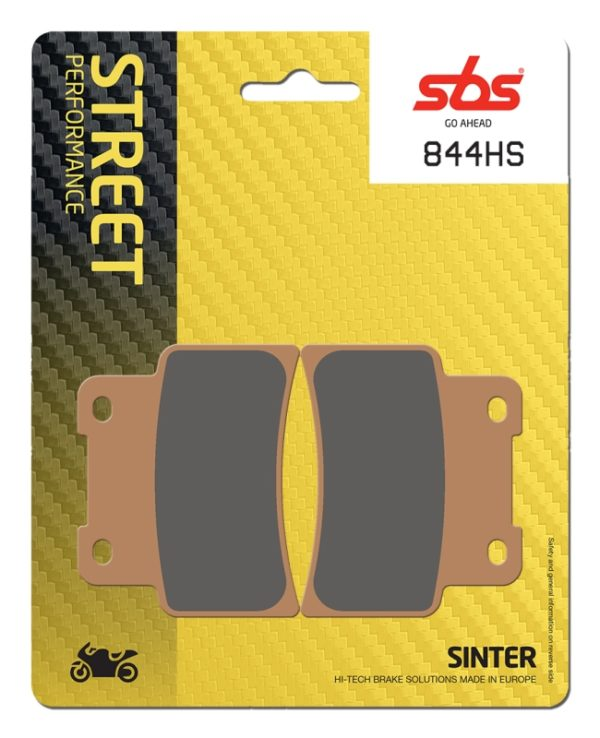 Pastilla de freno SBS P844-HS