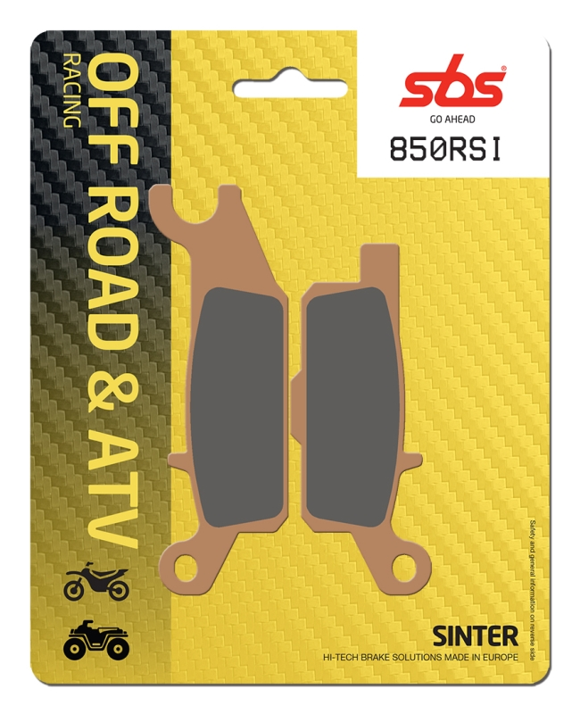 Pastilla de freno SBS P850-RSI