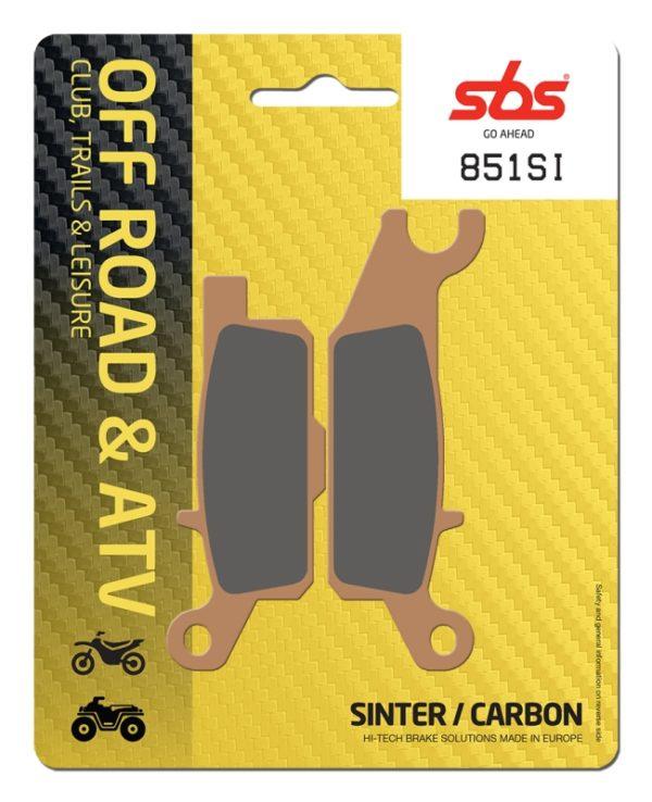 Pastilla de freno SBS P851-SI