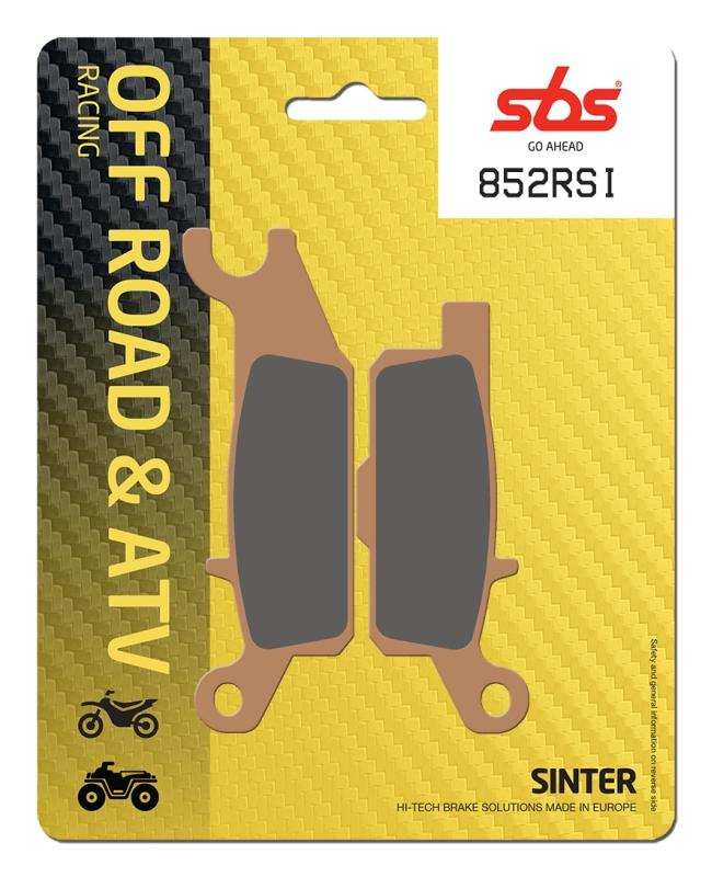 Pastilla de freno SBS P852-RSI