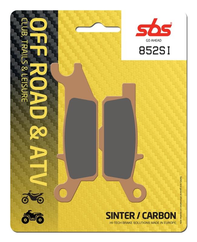 Pastilla de freno SBS P852-SI