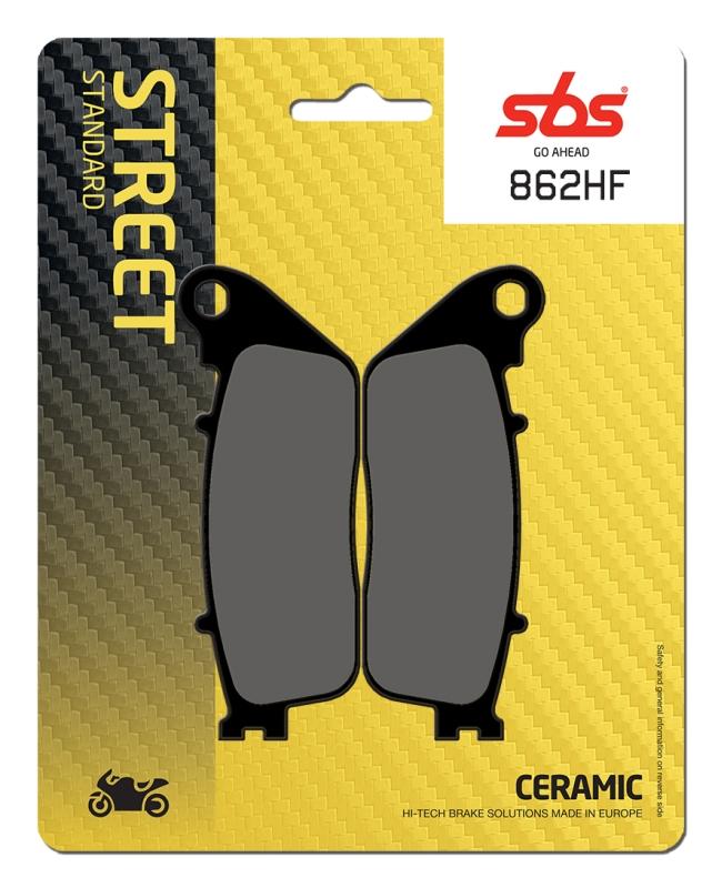 Pastilla de freno SBS P862-HF