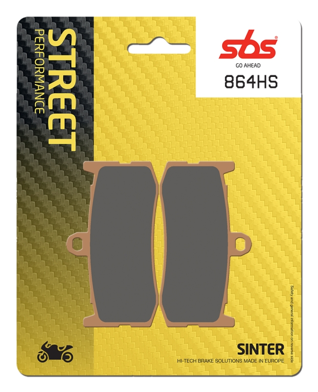 Pastilla de freno SBS P864-HS