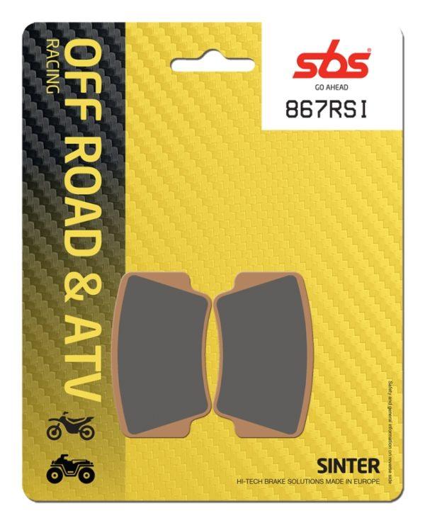 Pastilla de freno SBS P867-RSI
