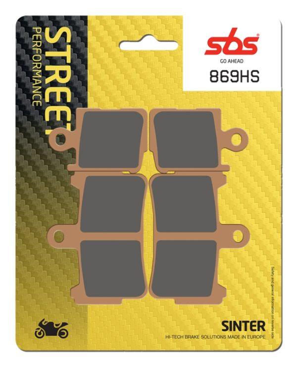 Pastilla de freno SBS P869-HS
