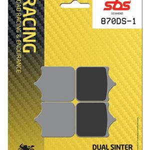 Pastilla de freno SBS P870-DS1