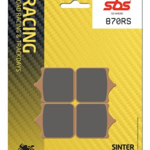 Pastilla de freno SBS P870-RS