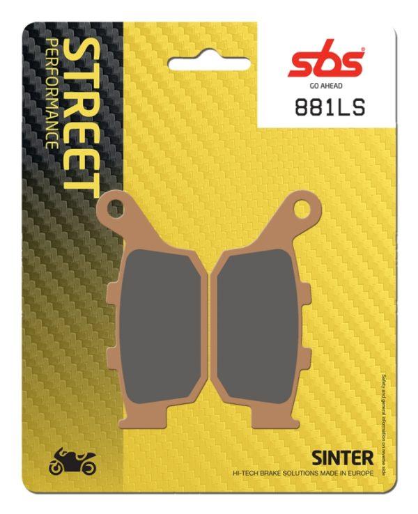 Pastilla de freno SBS P881-LS