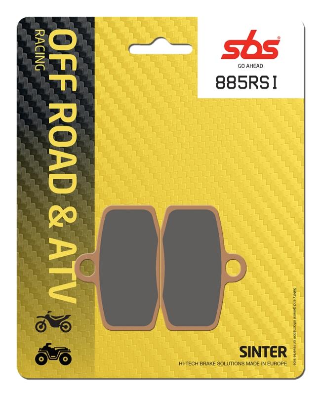 Pastilla de freno SBS P885-RSI