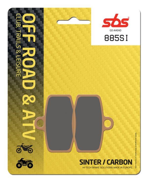 Pastilla de freno SBS P885-SI