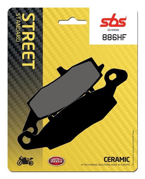 Pastilla de freno SBS P886-HF
