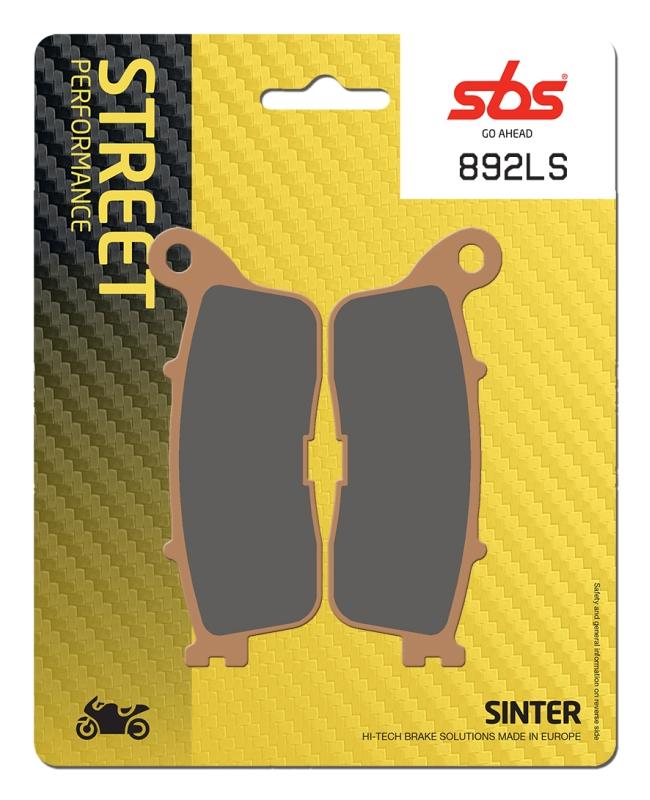 Pastilla de freno SBS P892-LS