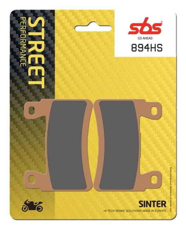 Pastilla de freno SBS P894-HS