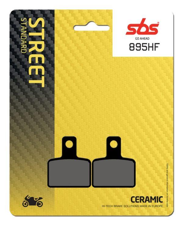 Pastilla de freno SBS P895-HF